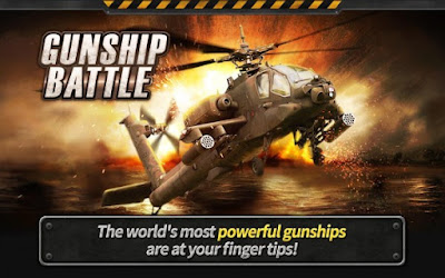 GUNSHIP BATTLE Helicopter 3D MOD APK v2.5.30 Free Shopping Terbaru