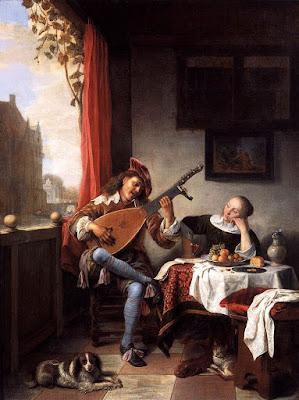 Hendrik Martenszoon Sorgh - le joueur de luth