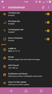 A-BBM Mod v5 Include Delta v3.1.0.13 Apk Unclone Terbaru