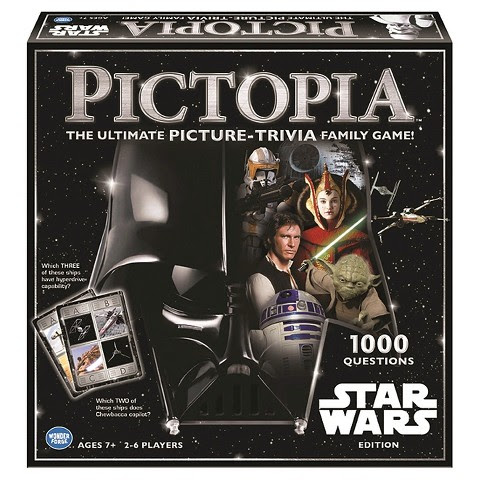 Star Wars Pictopia Trivia Game {Review & Giveaway}
