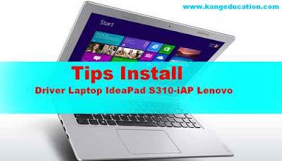 Cara cari Driver Laptop IdeaPad S310-11iAP