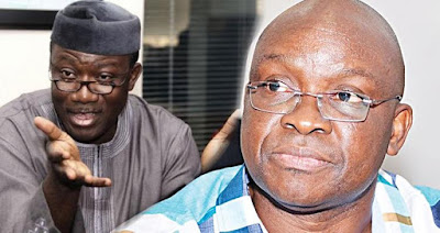 FUNNY!! How APC's Fayemi Out Spend Fayose's PDP In Ekiti