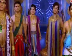 Sinopsis Mahabharata Episode 153 - Kedatangan Drupada dan Lima Anak Drupadi
