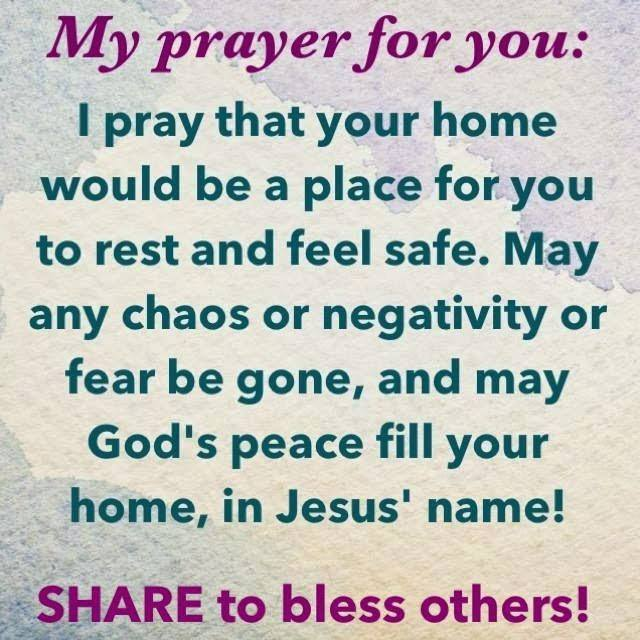 * My Prayer for you