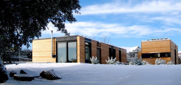 Casas prefabricadas de hormig n casa minimalista - Casa de hormigon prefabricado ...