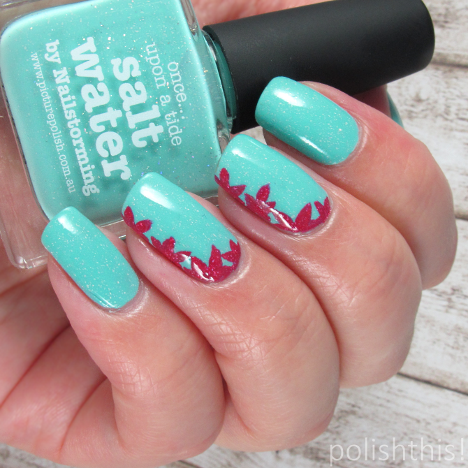 Picture Polish Salt Water Rose Nail Art Polish This