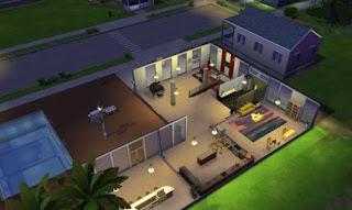 Casa Moderna Donwload Casa The Sims 4 Somos Sims