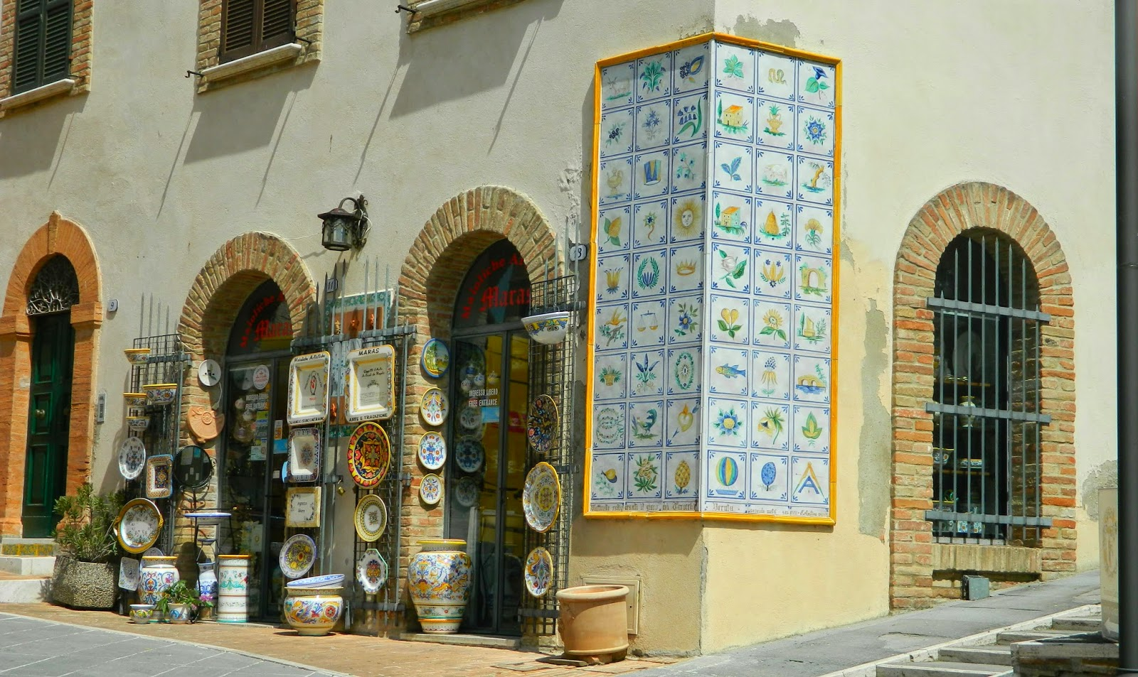 Deruta: town of ceramics