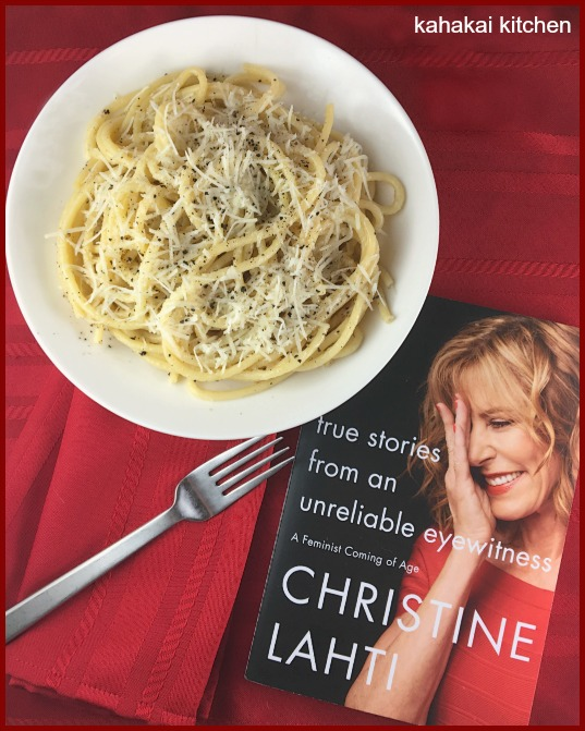 Kahakai kitchen the book tour stops here a review of true stories the tlc book tour of true stories from an unreliable eyewitness a feminist coming of age by christine lahti accompanying my review is a recipe for an forumfinder Images