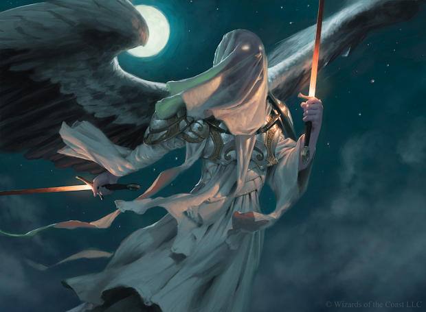Magic Exalted Angel Concept Art
