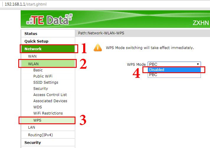 كيفية حماية الراوتر من الاختراق Te Data الجديد موقع أبانوب