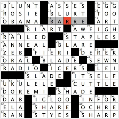 repeated lyric in la bamba crossword puzzle clue