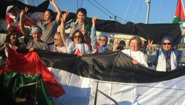 Semua Anak Kapal Zaytouna-Oliva Ke Gaza Selamat