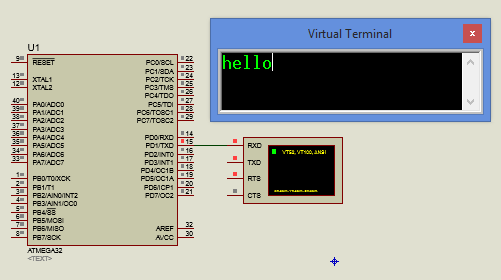 Embedded Systems Tutorial : USART ASYNCHRONOUS TRANSMITTER