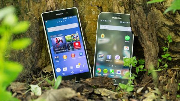 Sony Xperia Z2 vs. Samsung Galaxy S5