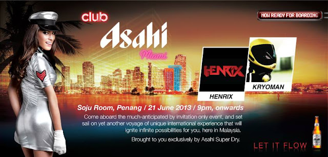 Club Asahi Miami 2013 happening at Soju Room , Penang