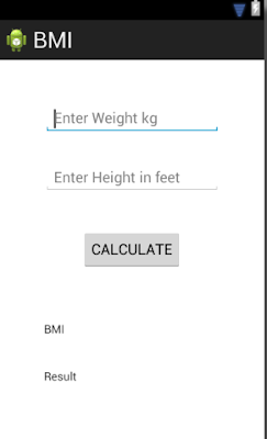 BMI-calc-ui-design