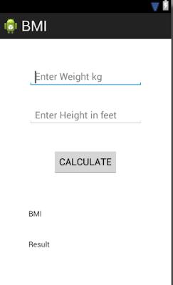 BMI-calc-ui-design