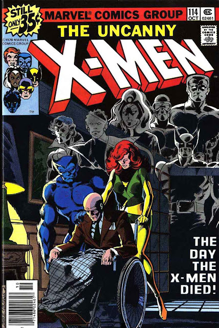 X-men v1 #114 marvel comic book cover art by John Byrne