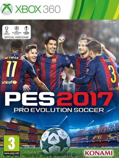 [GAMES] Pro Evolution Soccer 2017 (XBOX360/PAL)
