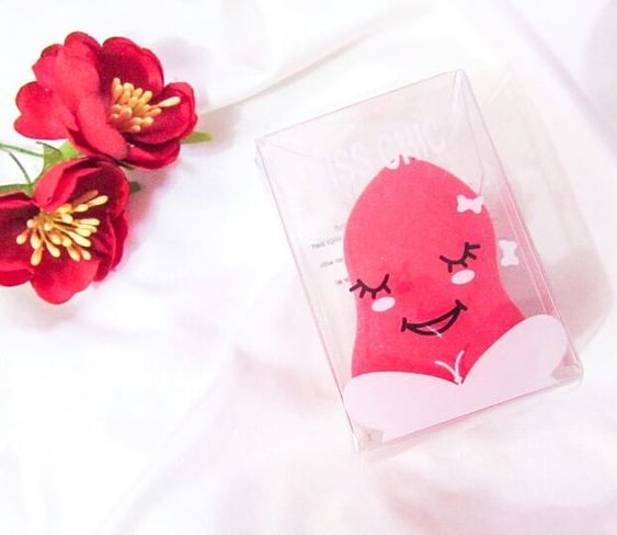 esponja formato de gota