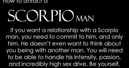 When a scorpio man really likes you