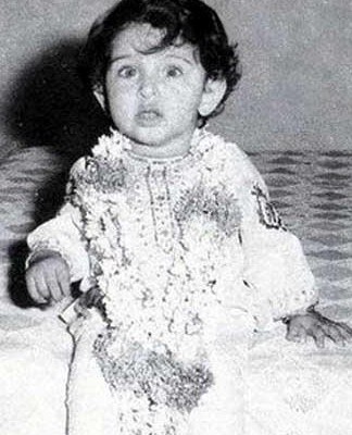 Childhood Pictures: Hrithik Roshan Childhood Photos