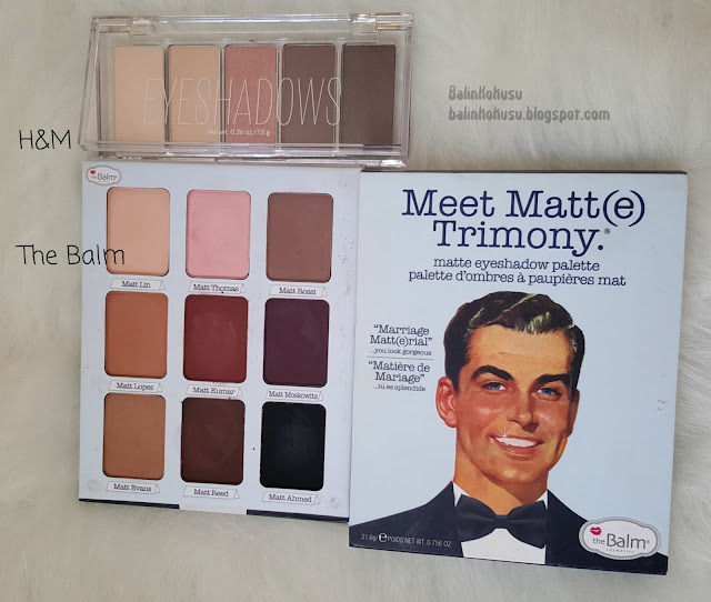 The balm meet matte trimony paleti