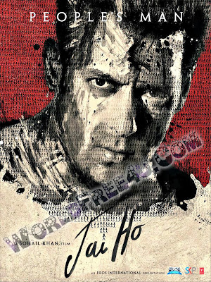 Poster Of Hindi Movie Jai Ho (2014) Free Download Full New Hindi Movie Watch Online At worldfree4u.com