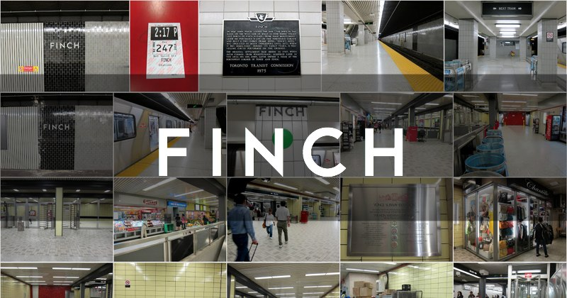 Finch station photo gallery