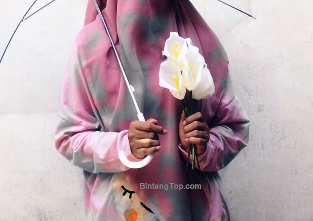 cara bikin bunga Lily kertas crepe