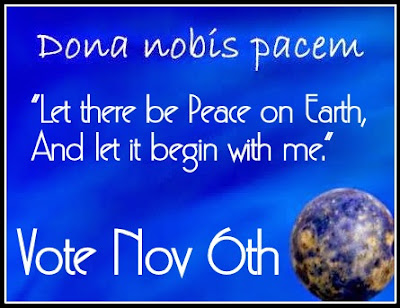 Vote for Peace....