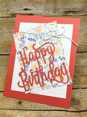Birthday Thinlits by Laura Erickson for PreOrder Swap for Stamping to Share.