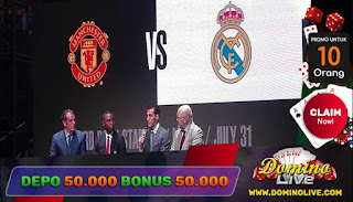 manchester united vs real madrid icc 1 juli 2018