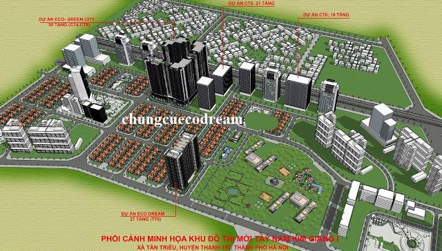 Quy hoạch chung cư Eco Dream City