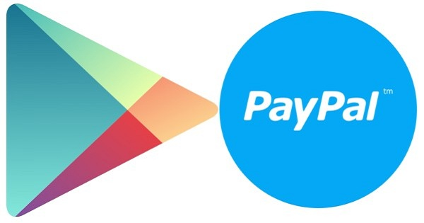 Google Play and Paypal Logo
