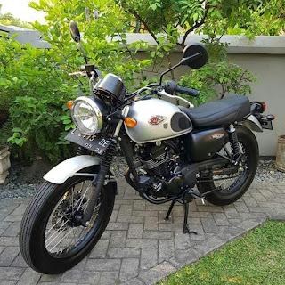 Kawasaki W175 tahun 2018