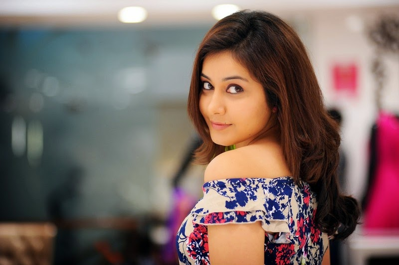Tollywood Actress Rashi Khanna Stills In Blue Dress