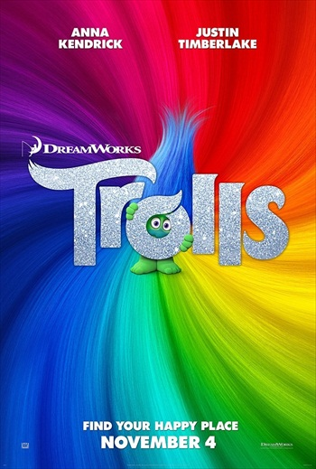 Trolls 2016 English 720p WEB-DL 800MB ESubs
