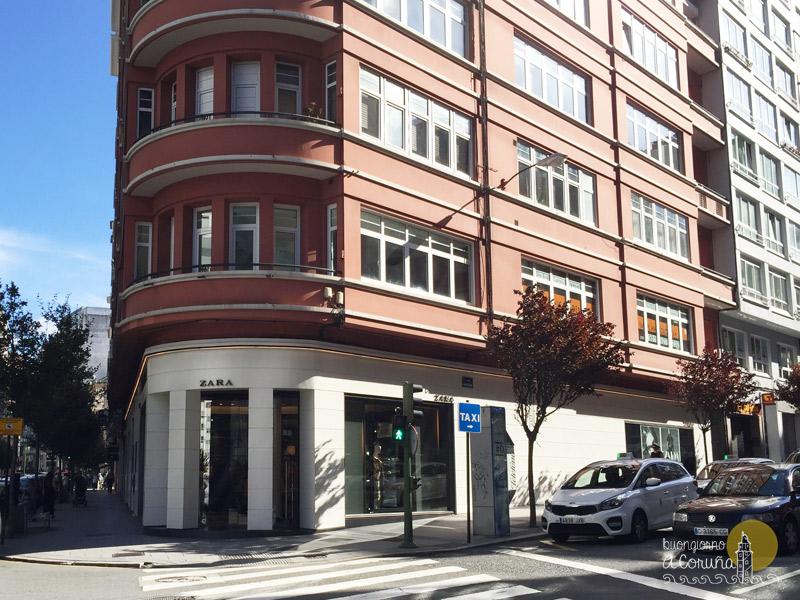 Primo negozio Zara al mondo A Coruña