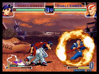 The King of Fighters 2002+arcade+game+portable+retro+fighter+download free
