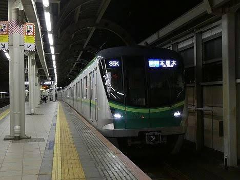 【ダイヤ改正で新設!】東京メトロ16000系の各駅停車 本厚木行き