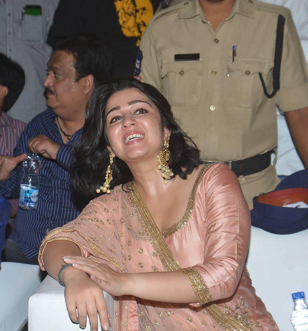 Charmi At Paisa Vasool Movie Audio Launch Stills