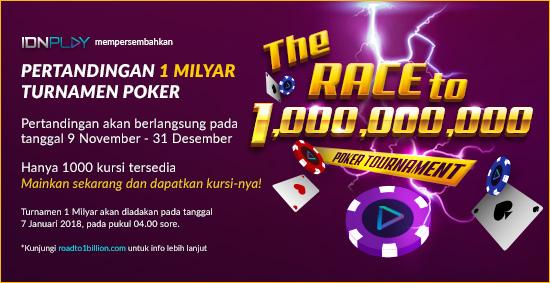 Poker Turnamen 1 Millyar