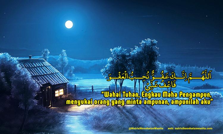 Doa Malam Lailatul Qadar yang Dianjurkan Olah Rasulullah SAW