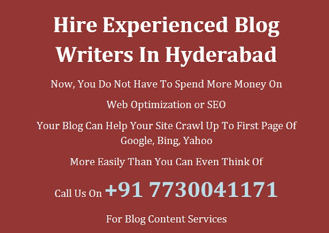 Blog Content Developers Hyderabad