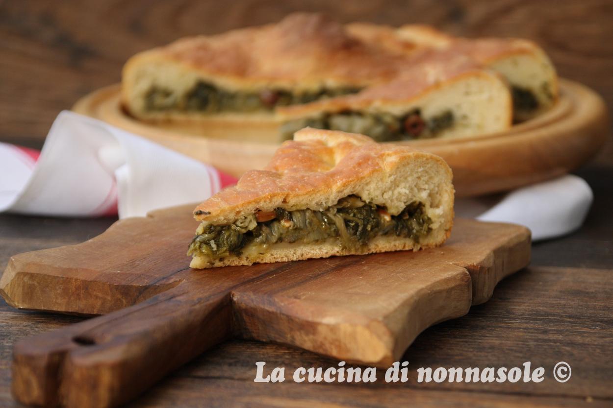 La cucina di nonna sole pizza con scarola - La cucina di rossella ...