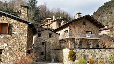 Fontaneda pueblo de Andorra