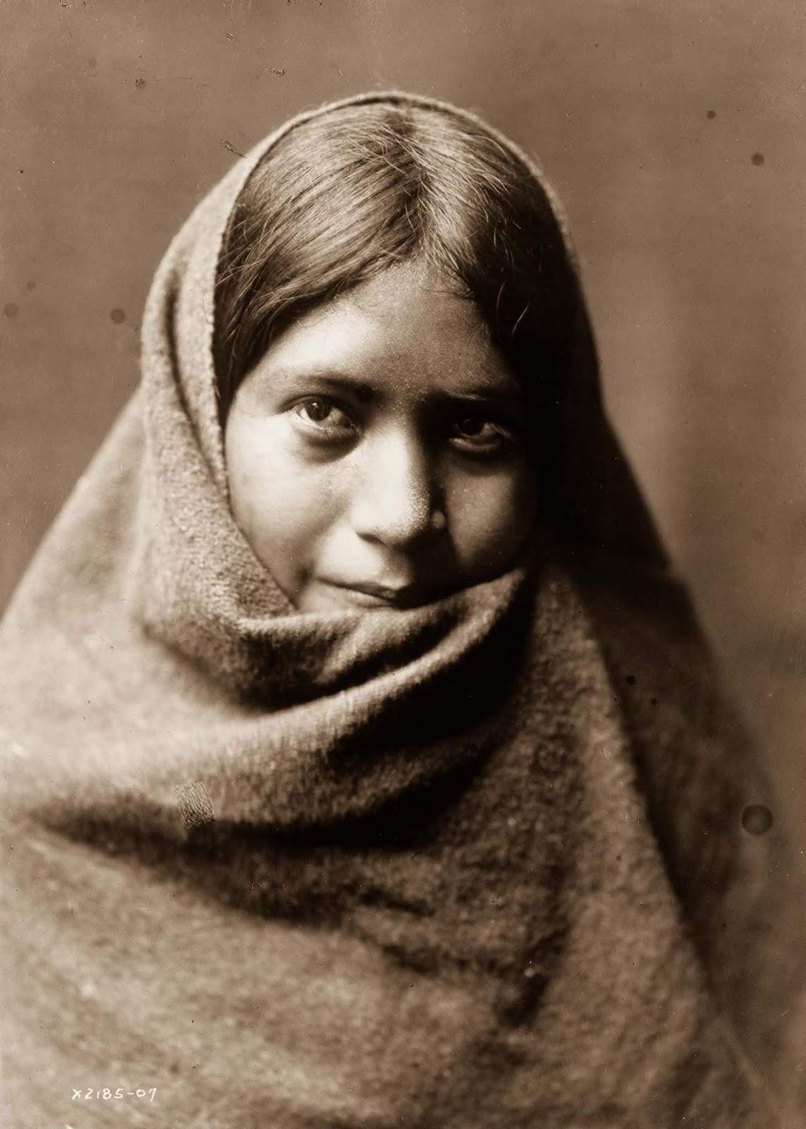 A Maricopa woman. 1907.