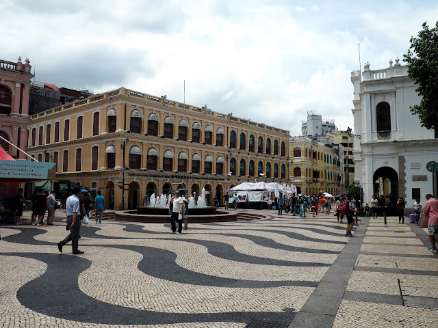 Senado Square old town, Macau, SAR of China